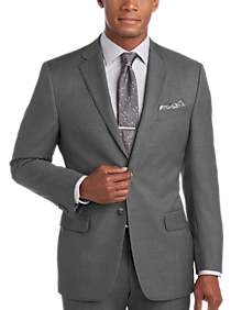 Mens Suits, Big & Tall - Joseph Abboud Gray Modern Fit Suit Separates Coat - Men's Wearhouse