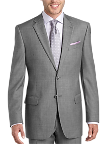 Mens Suits Starting at $89, Clothing - Joseph Abboud Sharkskin Modern Fit Suit - Men's Wearhouse