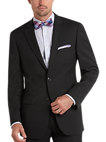Mens Suits - Pronto Uomo Charcoal Gray Modern Fit Suit - Men's Wearhouse