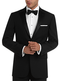 Mens Tuxedos, Suits - Pronto Uomo Black Modern Fit Tuxedo - Men's Wearhouse
