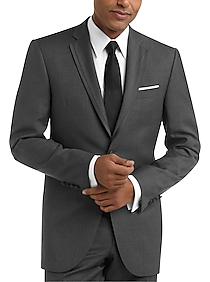 Mens Tuxedos, Suits - BLACK by Vera Wang Gray Slim Fit Tuxedo - Men's Wearhouse