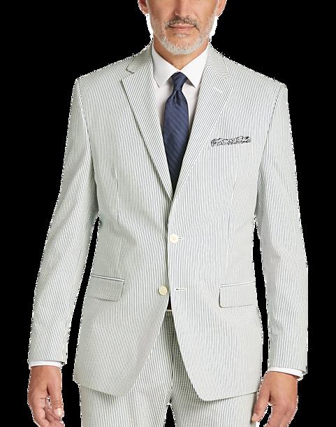 Seersucker Suit Blue Stripe Summer Suit Lauren By Ralph Lauren
