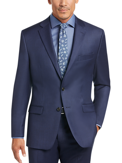 Lauren by Ralph Lauren Blue Classic Fit Suit