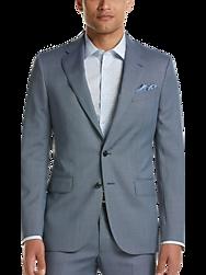 Joseph Abboud Blue Nailhead Slim Fit Suit