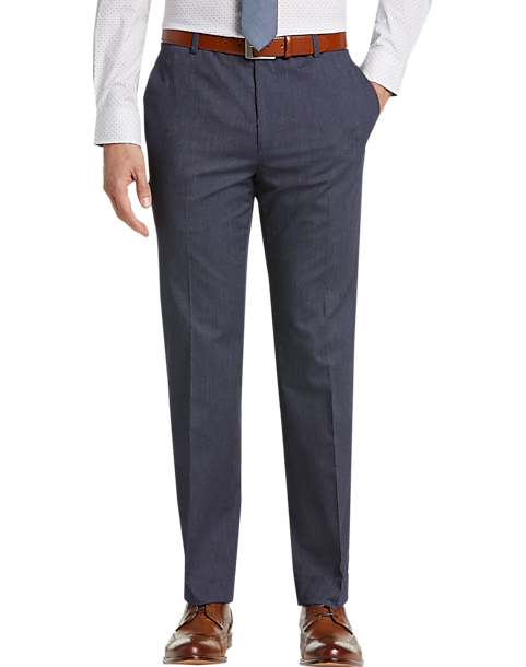 Joe Joseph Abboud Indigo Stripe Seersucker Suit Separates Dress