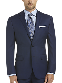 Mens Slim Fit, Suits - JOE Joseph Abboud Blue Slim Fit Survival Suit - Men's Wearhouse