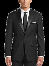 Mens Tuxedos, Suits - Calvin Klein X-Fit Black Slim Fit Tuxedo Separates Jacket - Men's Wearhouse