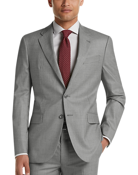 Joseph Abboud Freedom Light Gray Modern Fit Suit