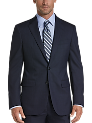 Joseph Abboud Blue Tic Modern Fit Suit Separates