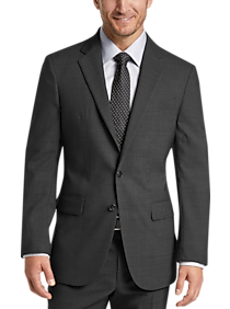 Mens Joseph Abboud, Suits - Joseph Abboud Charcoal Tic Modern Fit Suit - Men's Wearhouse
