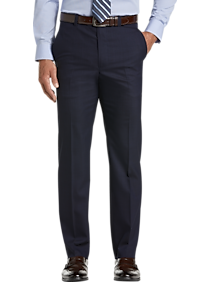 Mens Modern Fit, Suits - Joseph Abboud Modern Fit Blue Tic Suit Separates Dress Pants - Men's Wearhouse