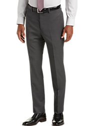 Calvin Klein Gray Pindot Slim Fit Suit Separates