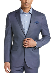 Mens Suits, Big & Tall - Joseph Abboud Heritage Blue Tic Modern Fit Suit - Men's Wearhouse