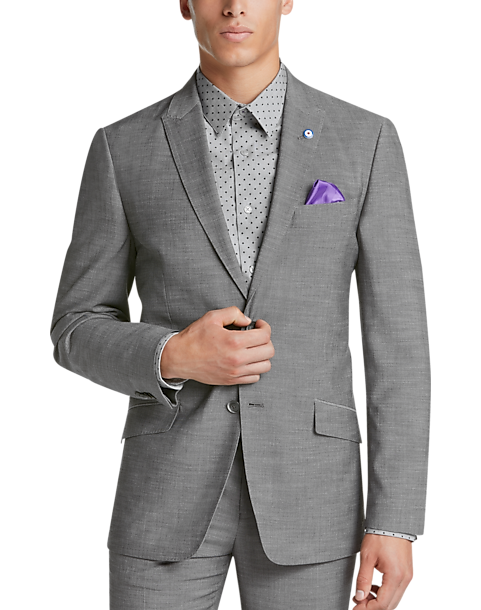 Ben Sherman Gray Extreme Slim Fit Suit