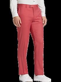 Mens Slim Fit, Pants & Shorts - Paisley & Gray Slim Fit Suit Separates Pants, Salmon - Men's Wearhouse