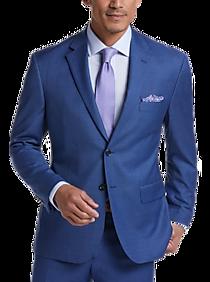 Pronto Uomo Blue Modern Fit Suit
