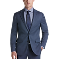 JOE Joseph Abboud Blue Tic Wool Blend Slim