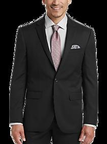 JOE Joseph Abboud Black Modern Fit Suit