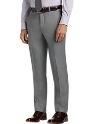 JOE Joseph Abboud Light Gray Slim Fit Suit