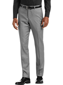 Mens Extreme Slim Fit, Suits - JOE Joseph Abboud Light Gray Extreme Slim Fit Suit Separate Pant - Men's Wearhouse