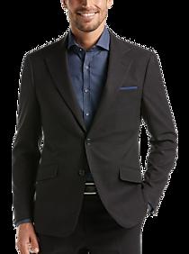 Mens Extra 30% Off Clearance, Suits - Suitor Black Plaid Slim Fit Suit - Men's Wearhouse