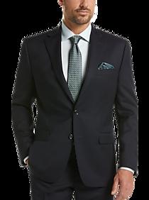 Mens Lauren by Ralph Lauren, Suits - Lauren by Ralph Lauren Navy Classic Fit Suit - Men's Wearhouse