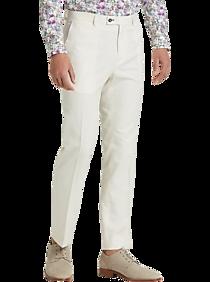 Mens Mix & Match - Paisley & Gray, Suits - Paisley & Gray Slim Fit Suit Separates Slacks, Cream - Men's Wearhouse