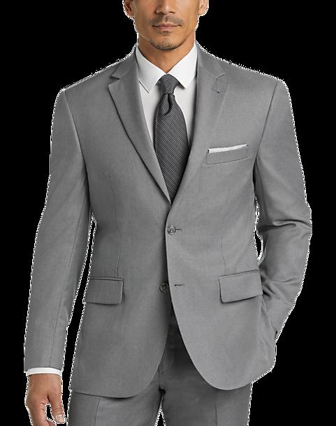 Light Grey Men/'s Classic Fit 3 Piece Vested Suit $100.00 Many Sizes!