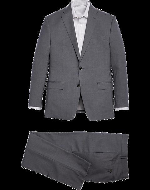 Lauren by Ralph Lauren Gray Classic Fit Suit