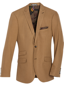 Paisley & Gray Slim Fit Suit Separates Coat, Camel