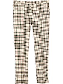 Mens Extreme Slim Fit, Suits - Paisley & Gray Houndstooth Slim Fit Suit Separates Pants, Camel Houndstooth - Men's Wearhouse