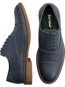 Todd Welsh Eastman Navy Lace-Up Shoes