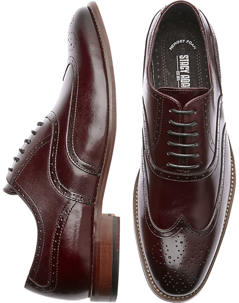Details about  /STACY ADAMS Men/'s Dunbar-Wingtip Oxford Choose SZ//color
