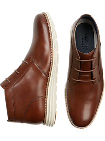 Mens Boots, Shoes - Cole Haan Original Grand Woodbury Chukka Boots - Men's Wearhouse