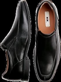 Mens Joseph Abboud, Shoes - Joseph Abboud Black Leather Slip On - Men's Wearhouse