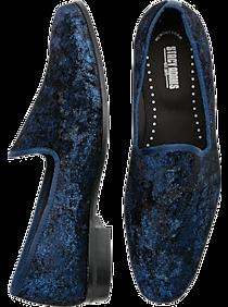 Mens Dress Shoes, Shoes - Stacy Adams Sultan Navy Velvet Smoking Shoe - Men's Wearhouse