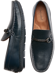 Belvedere Diego Navy Driver Loafers