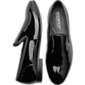 Awearness Kenneth Cole Ethan Black Patent Slip On