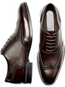 Kenneth Cole Awearness Mackson Brown Wingtip Oxfords