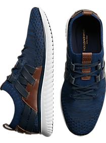 Mens $99.99 Cole Haan Shoes, Shoes - Cole Haan GrandM?tion Navy Stitchlite Lace Ups - Men's Wearhouse