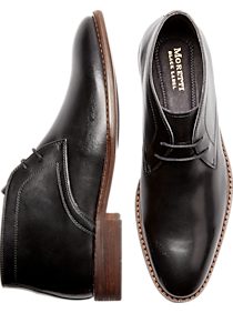 Mens Boots, Shoes - Moretti Black Chukka Boots - Men's Wearhouse