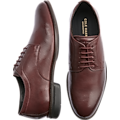Cole Haan Holland Grand Burgundy Plain Toe Derbys