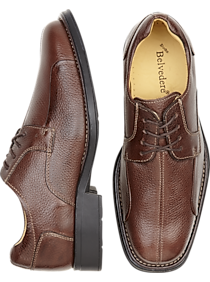 Mens 30% Off Shoes, Clothing - Belvedere Bay Bridge Brown Dress Shoes - Men's Wearhouse