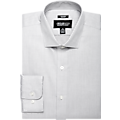 Awearness Kenneth Cole Light Gray Slim Fit Dress