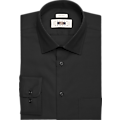 Joseph Abboud Black Twill Dress Shirt