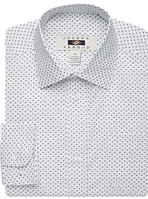 Mens Boys Shirts, Shirts - Joseph Abboud Boys Black Triangle Print Dress Shirt - Men's Wearhouse