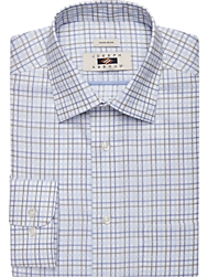 Joseph Abboud Olive Grid Dress Shirt