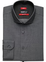 Awearness Kenneth Cole AWEAR-TECH Black Slim Fit Dress