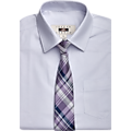 Joseph Abboud Boys Purple Floral Dress Shirt &