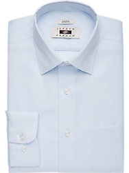 Joseph Abboud Blue Stripe Classic Fit Dress Shirt